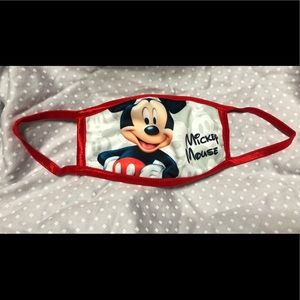 "Disney-style ""Mickey Mouse"" Face Mask"